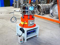 气体保护超声波振动筛